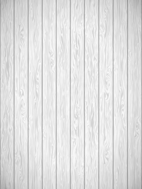 Modèle De Texture Bois Blanc. Vecteur Premium