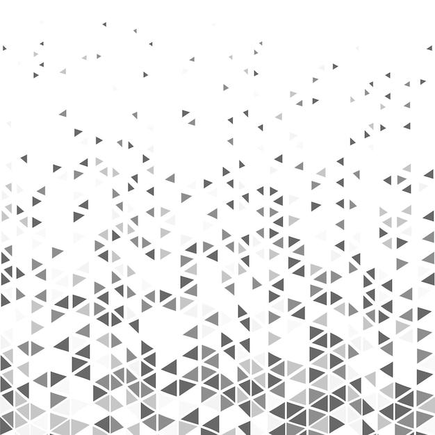 Modèle de triangle moderne abstrait Vecteur Premium