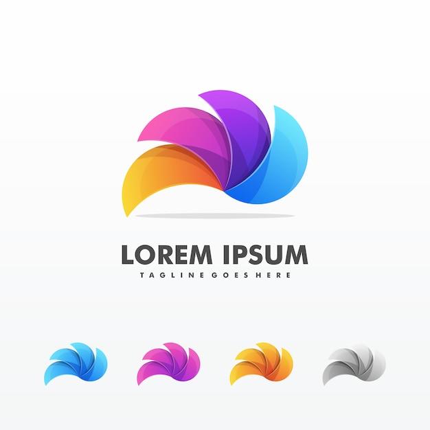 Modèle vector illustration tordue Vecteur Premium