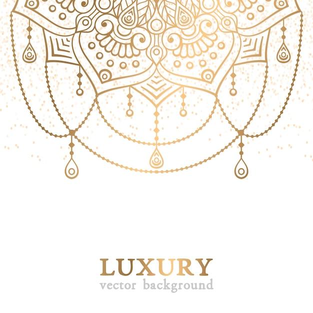 Modèle vectoriel de luxe Vecteur gratuit