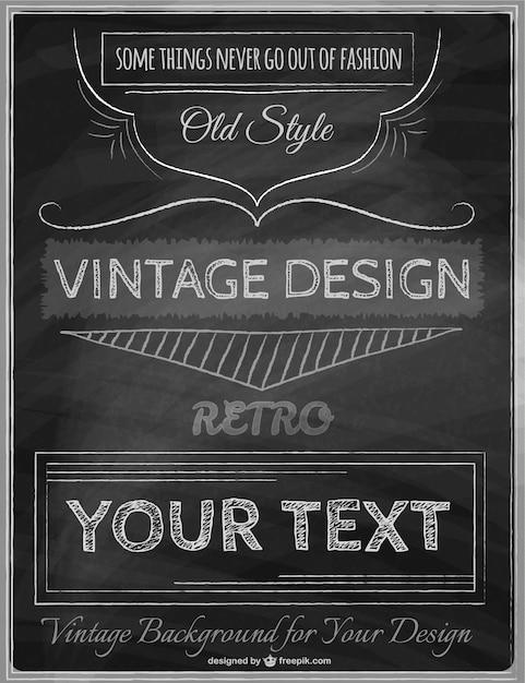 mod u00e8le vintage d u0026 39 affiche