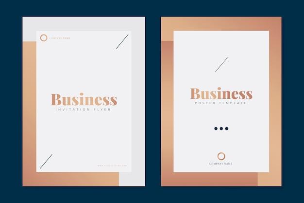 Modèles de brochure d'entreprise Vecteur gratuit