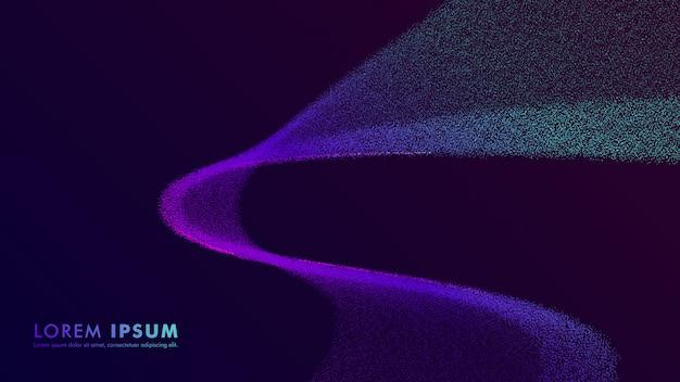 Modèles colorés de fond abstrait Vecteur Premium