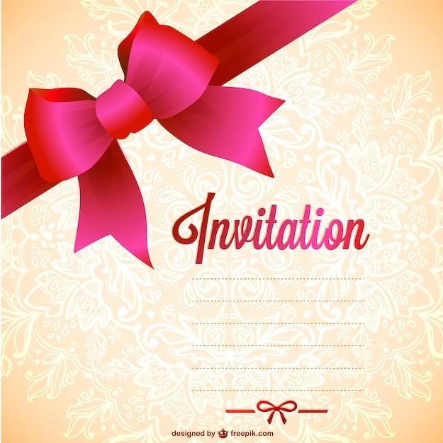 Extrêmement Modèles d'invitation gratuite à imprimer | Télécharger des  IX28
