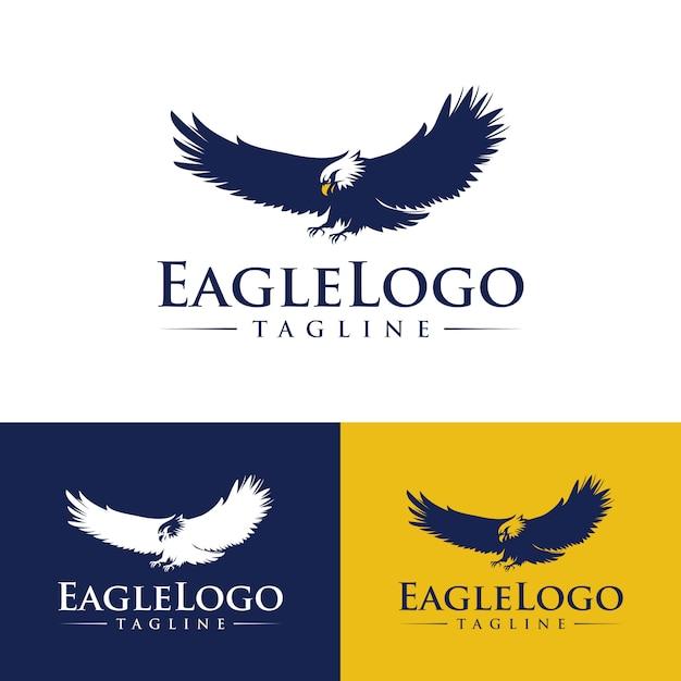 Modèles de logo eagle Vecteur Premium