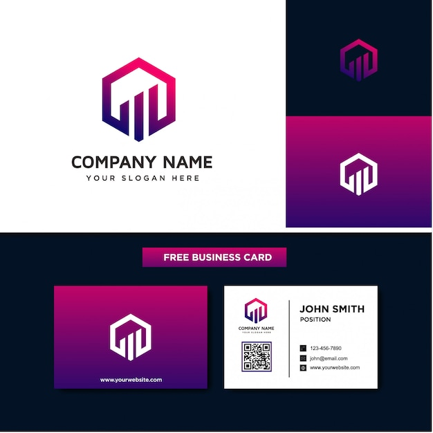 Modèles de logo finance d'entreprise Vecteur Premium