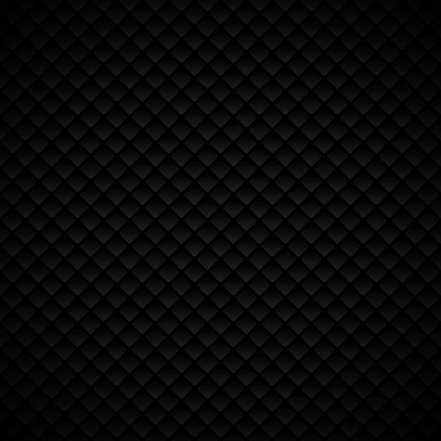Modélisme de carrés de géométrie abstraite luxe noir Vecteur Premium