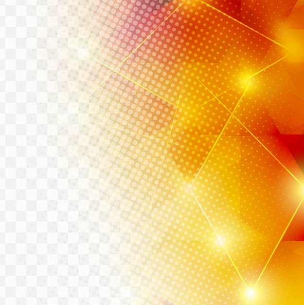 Moderne fond polygonal Vecteur gratuit