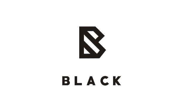 Monogramme B / Initial B Pour Le Logo Vecteur Premium
