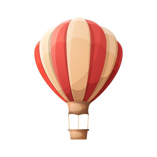 Montgolfi re de dessin anim t l charger des vecteurs - Dessin montgolfiere ...