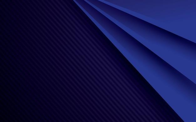 Motif abstrait bleu et noir Vecteur Premium