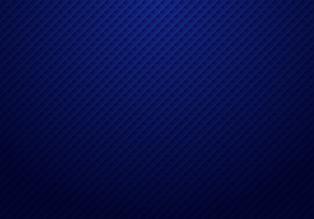 Motif abstrait de carrés bleu foncé 3d Vecteur Premium
