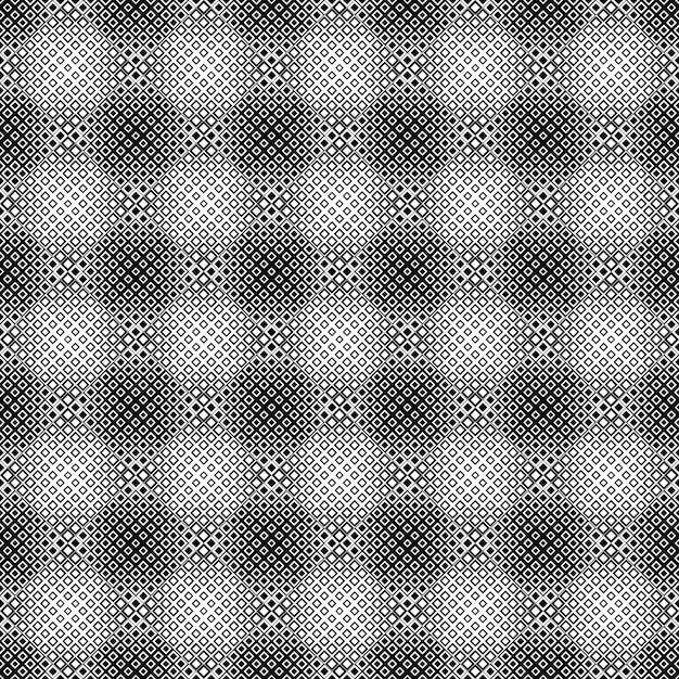 Motif Carré Diagonal Géométrique Noir Et Blanc Vecteur Premium