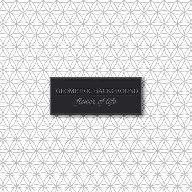 Motif de cercles géométriques Vecteur Premium