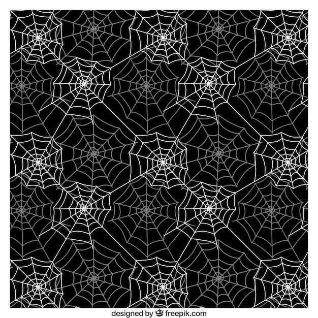 Motif de toile d 39 araign e dans les couleurs noir et blanc t l charger des vecteurs gratuitement - Toile d araignee en papier ...