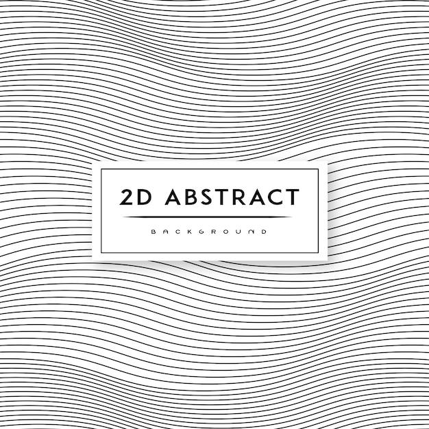 Motif De Fond Abstrait Noir Et Blanc Vecteur gratuit