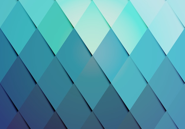 Motif De Fond De Couleur Hipster Entreprise Avec Un Arrangement Géométrique De Diamants Gradués Vecteur gratuit