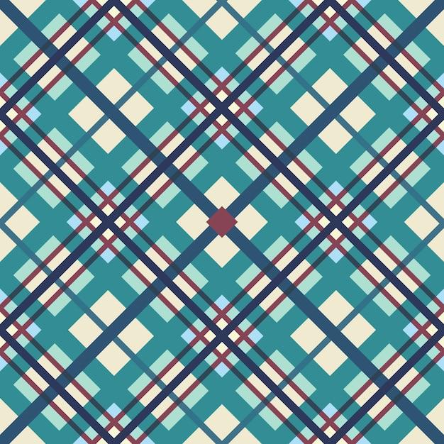Le motif géométrique des bandes qui se croisent Vecteur Premium
