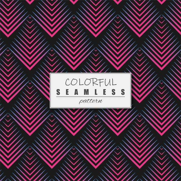 Motif géométrique coloré Vecteur Premium