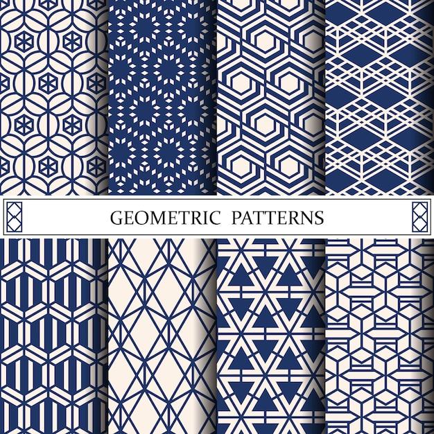 Motif Géométrique Pour Les Textures De Surface Ou De Fond De Page Web Vecteur Premium