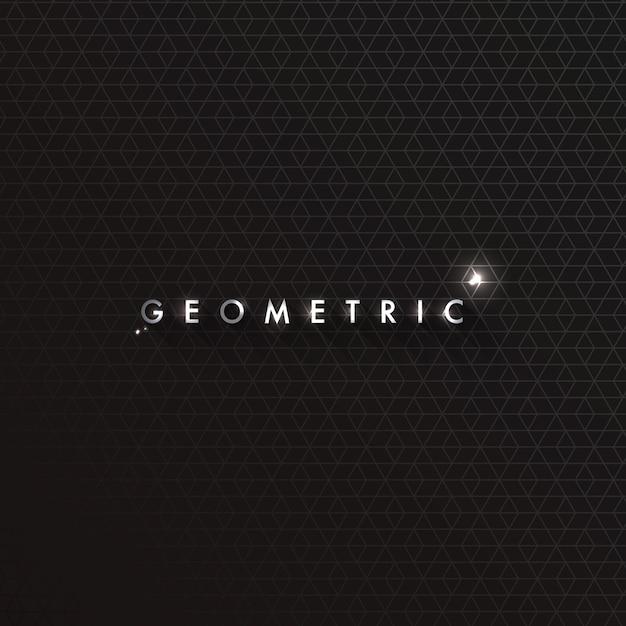 Motif géométrique Vecteur Premium