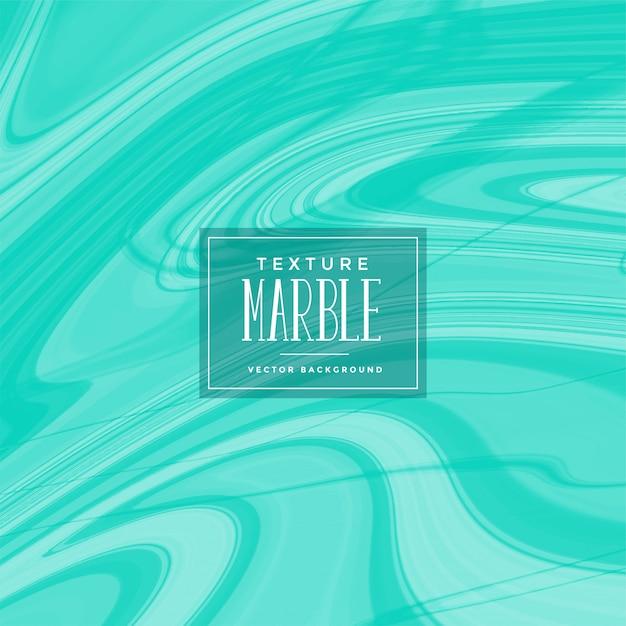 Motif de marbre liquide abstrait turquoise Vecteur gratuit