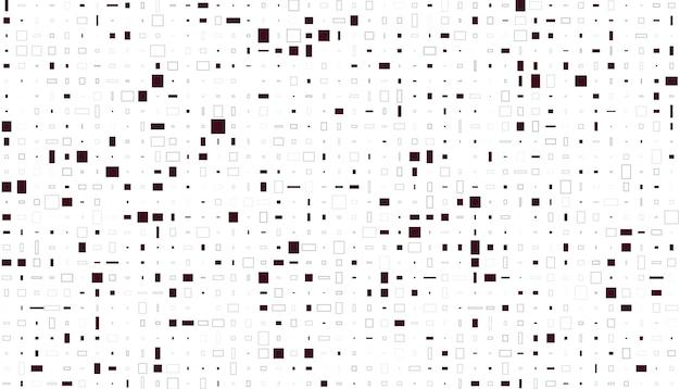 Motif De Mosaïque De Pixels Vecteur gratuit