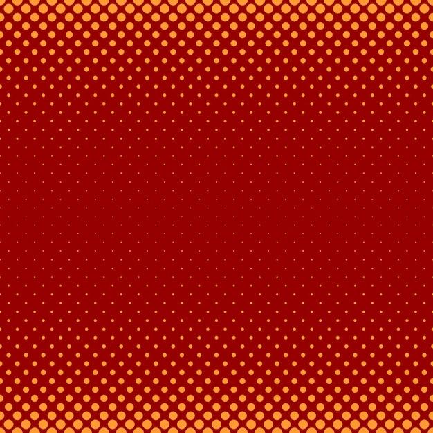 Motif de motif de points en demi-teintes abstrait en couleur - illustration vectorielle de cercles de différentes tailles Vecteur gratuit