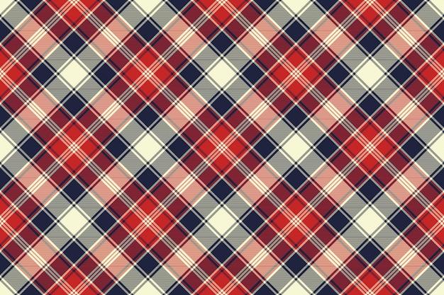 Motif Sans Soudure De Lignes Diagonales De Texture Tissu Vecteur Premium