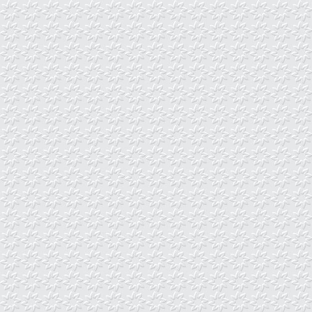 Motif Sans Soudure Simple Géométrique 3d Vecteur Premium