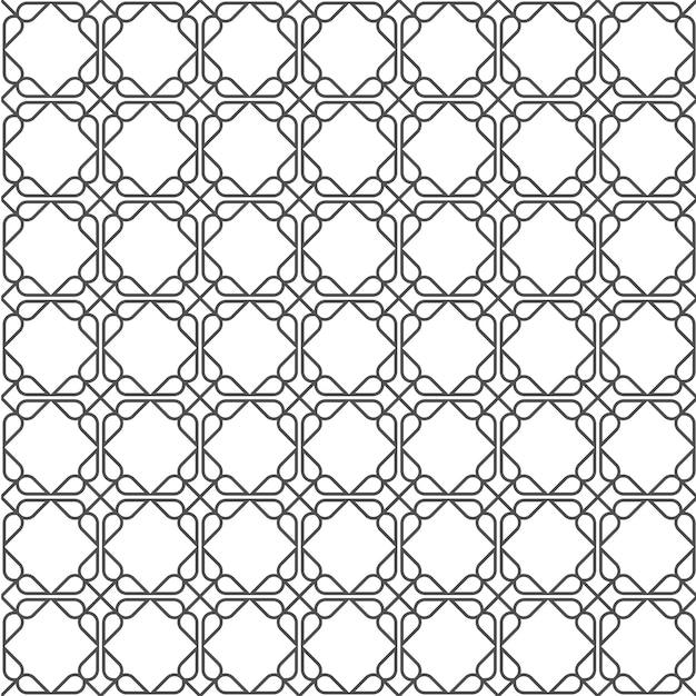 Motif Sans Soudure Simple Géométrique Dans Le Style Est Vecteur Premium