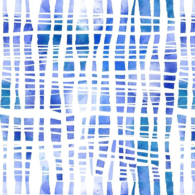 Motif Shibori Aquarelle Vecteur gratuit
