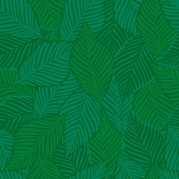 Motif tropical Vecteur Premium