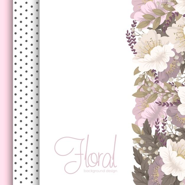 Motifs De Fleurs Frontière Fleurs Roses Vecteur gratuit