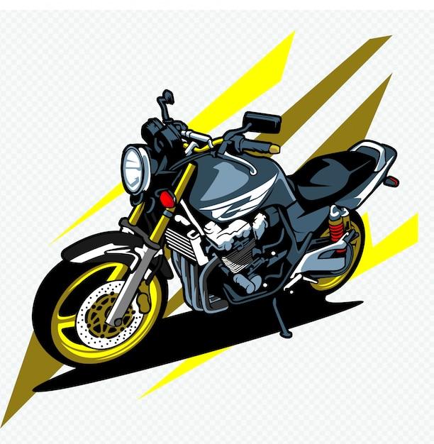 Moto Vecteur Premium