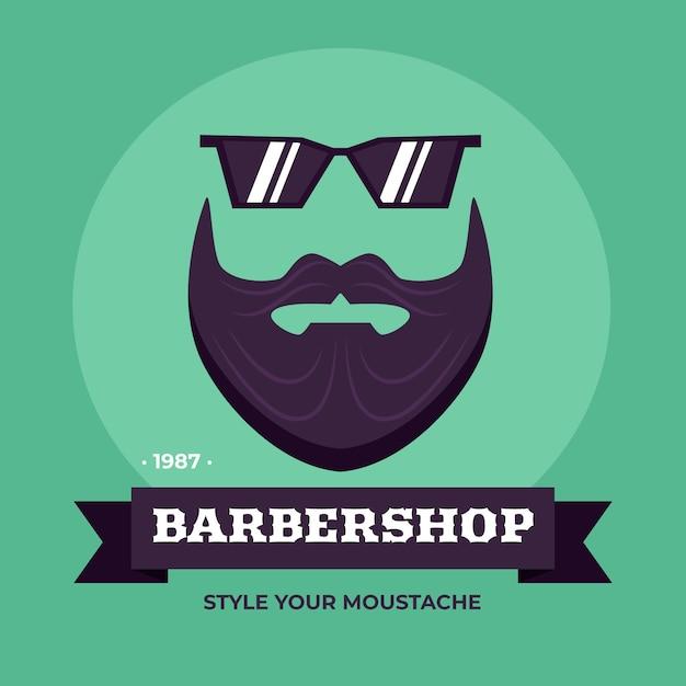 Movember Concept Au Design Plat Vecteur gratuit