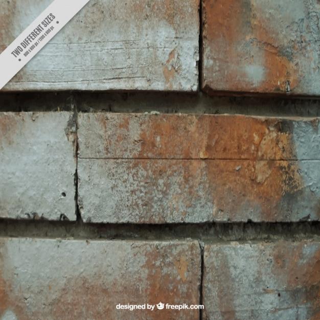 Mur De Briques Texture Vecteur gratuit