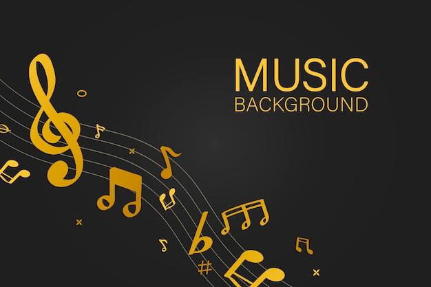 Musique de fond Vecteur gratuit