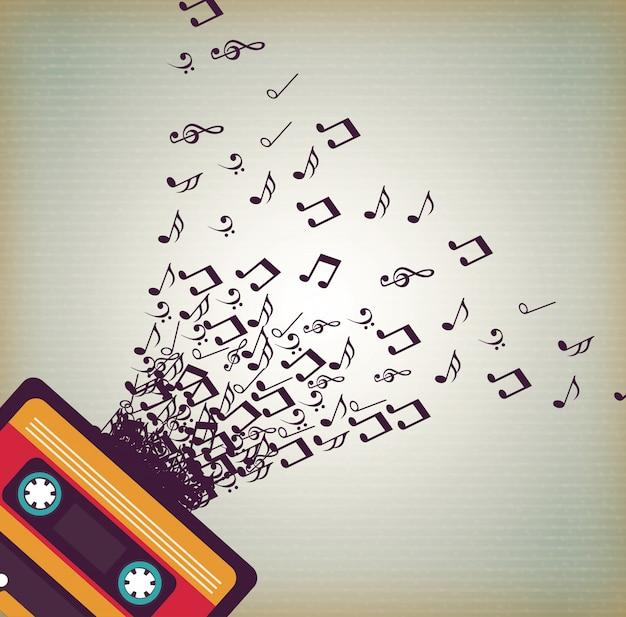 La musique Vecteur gratuit