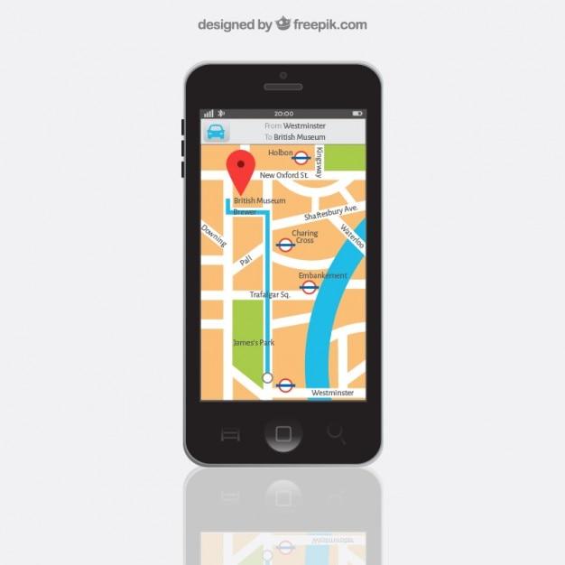 navigation app t l charger des vecteurs gratuitement. Black Bedroom Furniture Sets. Home Design Ideas