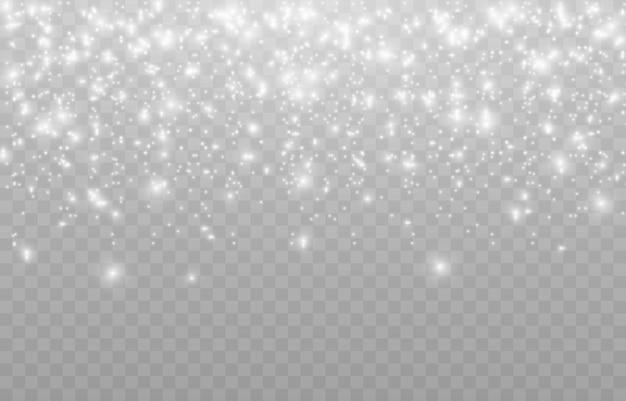 Neige. Chute De Neige. Neige Png. Neige Png. Poussière. Poussière Blanche. L'hiver. Fête. Noël. L'arrière-plan. Fond Quadrillé. Vecteur Premium