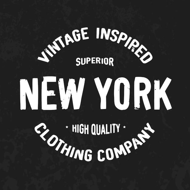 New york Vecteur Premium