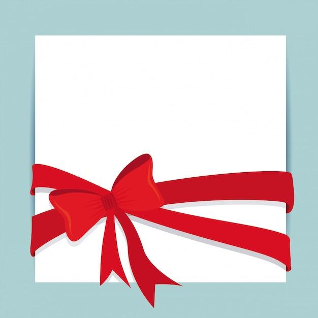 Noeuds cadeaux Vecteur Premium