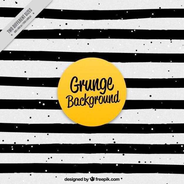 Noir Et Blanc Rayé Grunge Vecteur Premium
