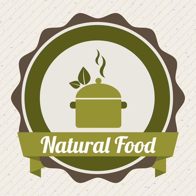 Nourriture sur fond blanc Vecteur gratuit