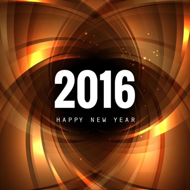 Nouvel an 2016 fond Vecteur gratuit