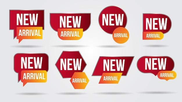 Nouvelle Arrivee Vecteur Premium