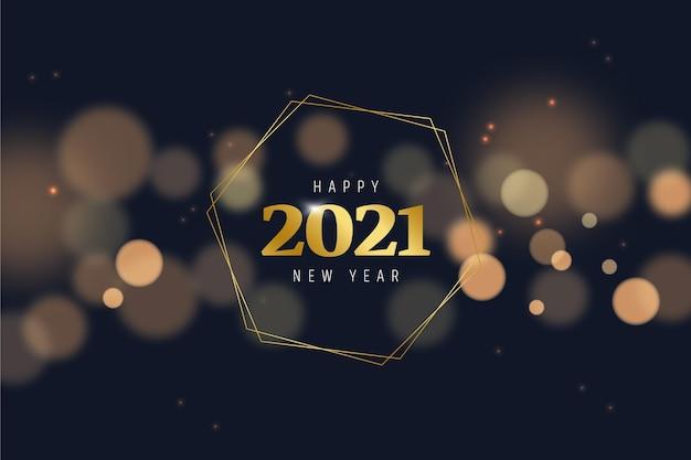 Nouvelle Déchirure Floue 2021 Vecteur Premium