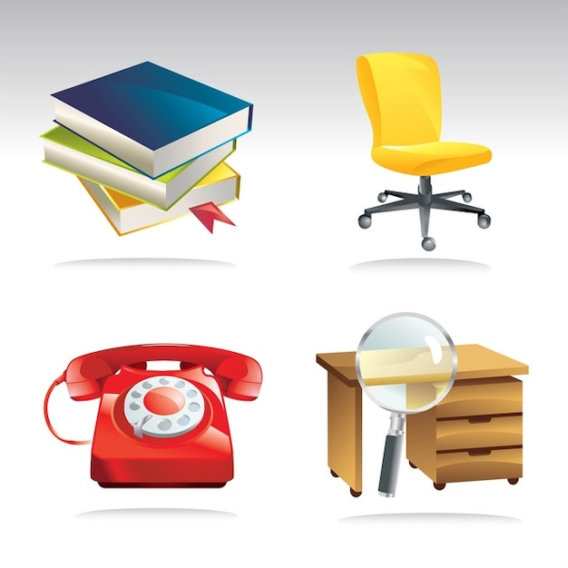 Office art vector clip t l charger des vecteurs gratuitement - Telecharger libre office gratuitement ...