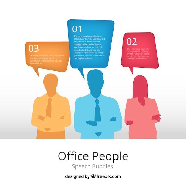 Office People Vecteur gratuit